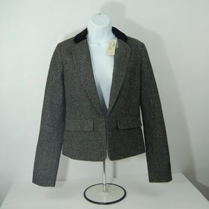 American Eagle Outfitters Black And Gray Blazer
